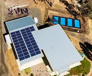 Doxa Youth Camp, Malmsbury, with its community bonus solar system through the Hepburn Solar Bulk-Buy